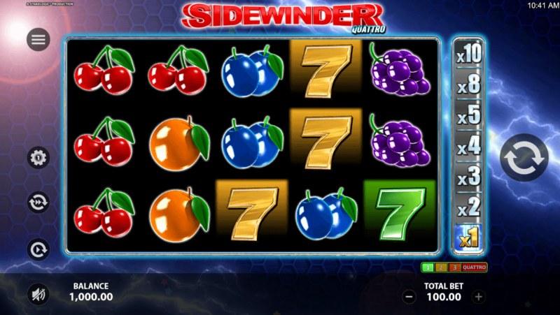 Sidewinder Quattro :: Main Game Board