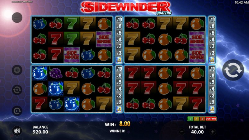 Sidewinder Quattro :: Three of a kind