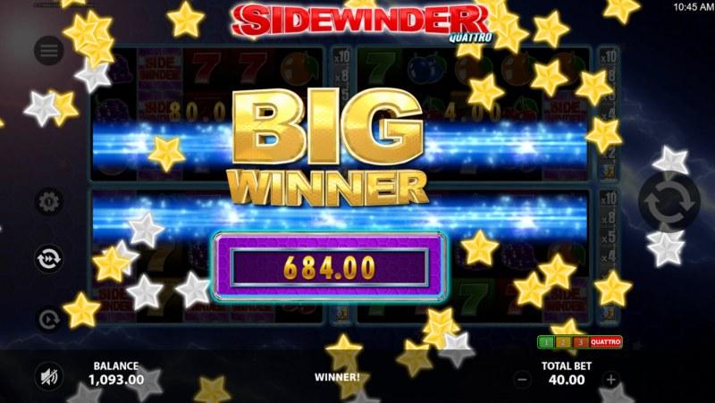 Sidewinder Quattro :: Big Win