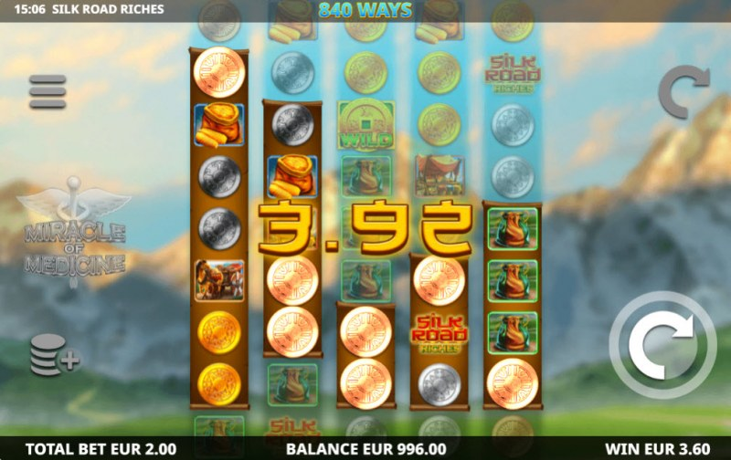 Silk Road Riches :: Multiple winning combinations