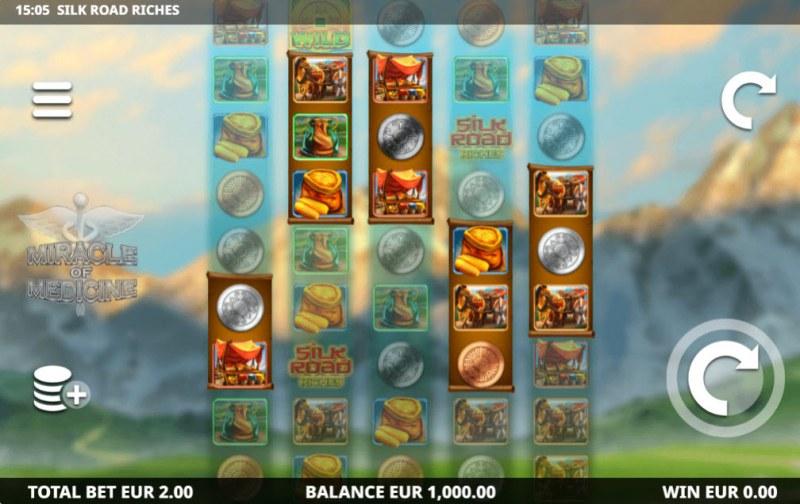 Silk Road Riches :: Main Game Board