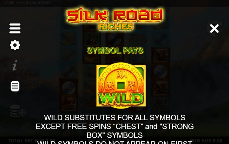 Silk Road Riches :: Wild Symbol Rules