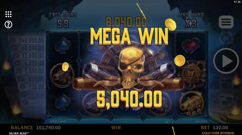 Silver Seas :: Mega Win