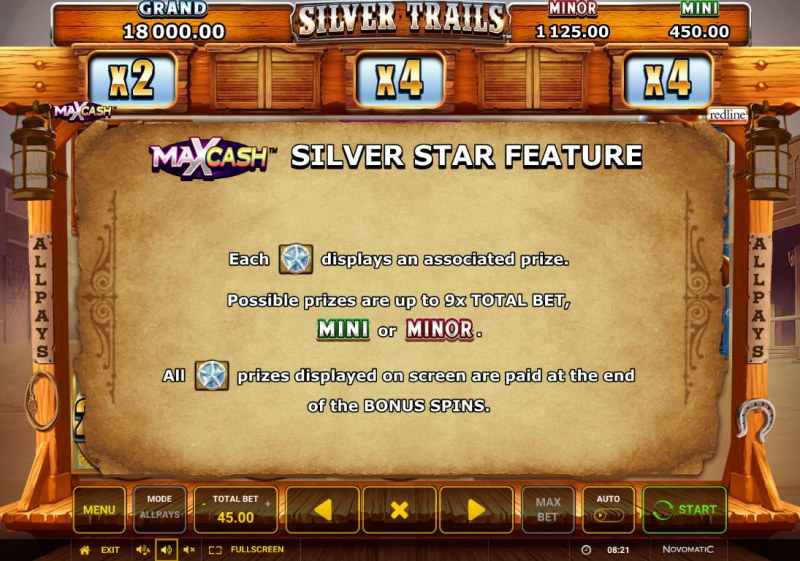 Silver Trails :: Feature Rules