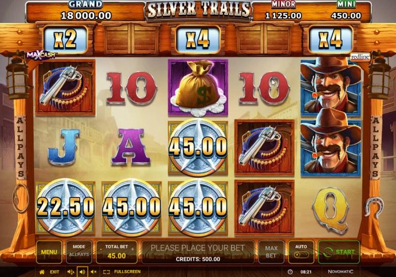 Silver Trails :: Main Game Board
