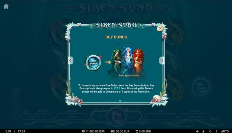 Siren Song :: Buy Feature