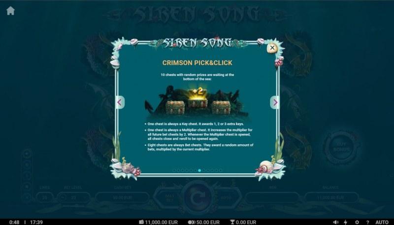 Siren Song :: Bonus Pick Game