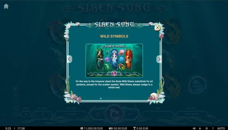 Siren Song :: Wild Symbol Rules