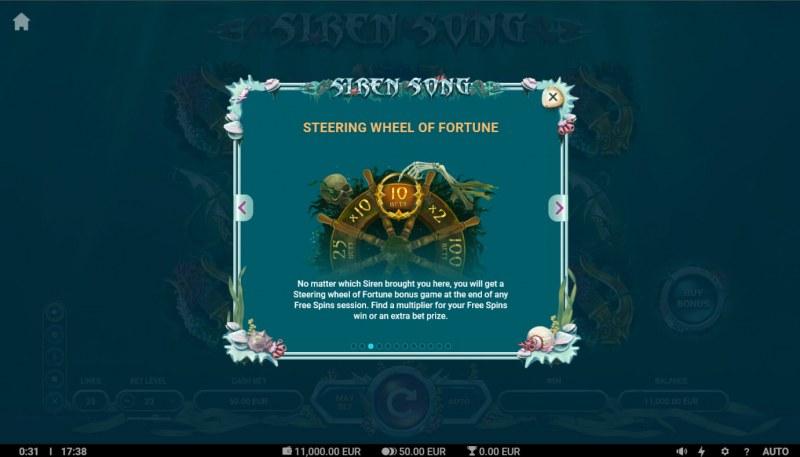 Siren Song :: Steering Wheel of Fortune