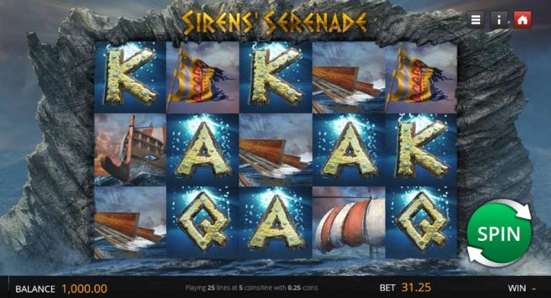 Sirens' Serenade :: Main Game Board