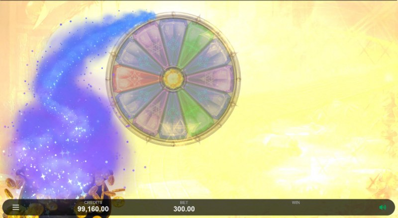 Sisters of Oz Jackpots :: Jackpot Wheel activates randomly after gold coins land on the reels