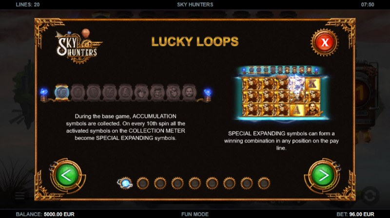 Sky Hunters :: Lucky Loops