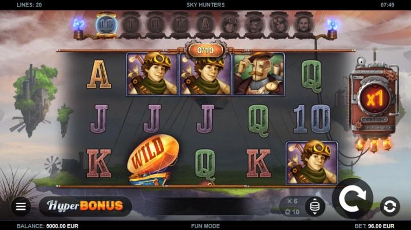 Sky Hunters :: Main Game Board