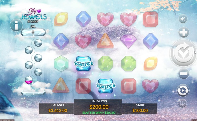 Sky Jewels :: Scatter Symbol Rules
