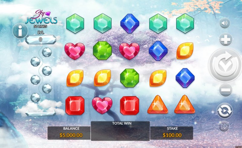Sky Jewels :: Main Game Board