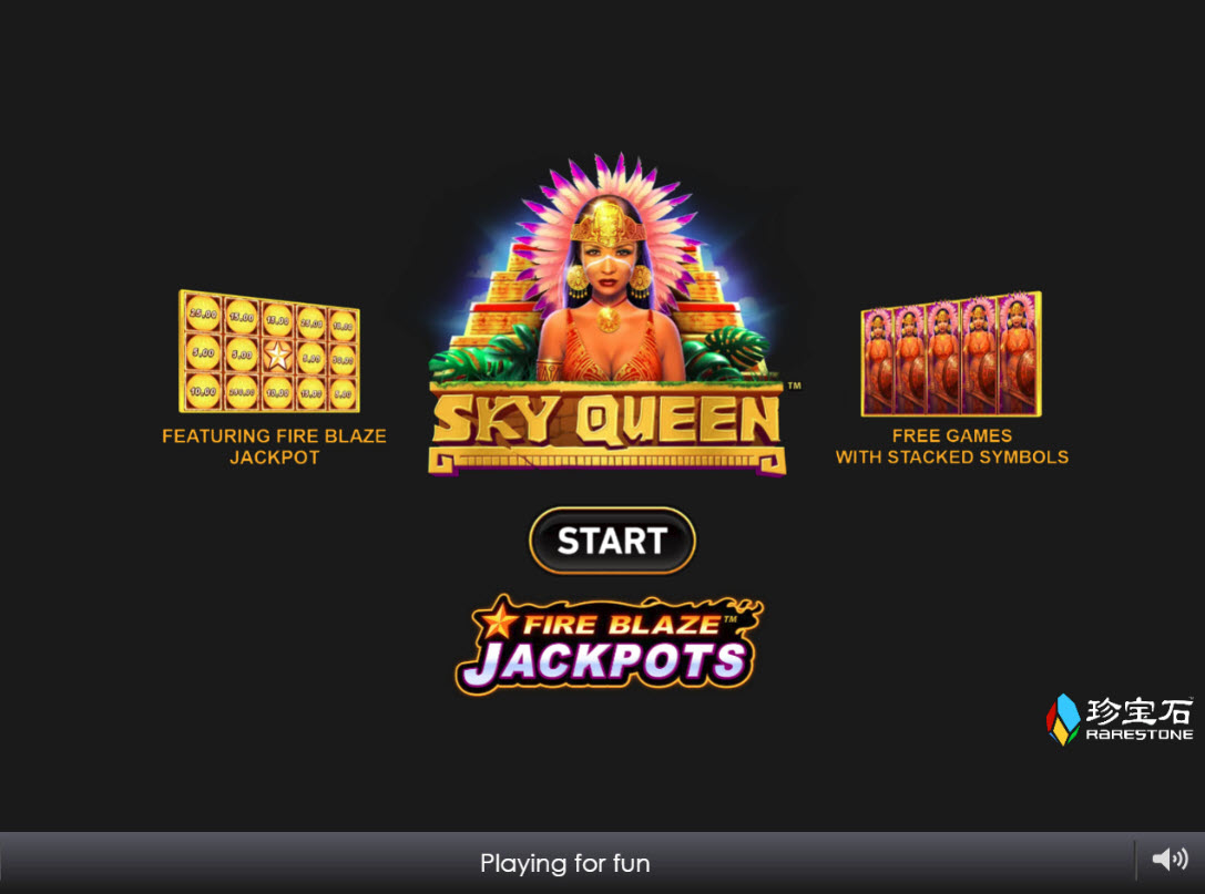 Play slots at Crown Europe: Crown Europe featuring the Video Slots Sky Queen with a maximum payout of $1,000,000