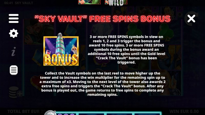Sky Vault :: Free Game Rules
