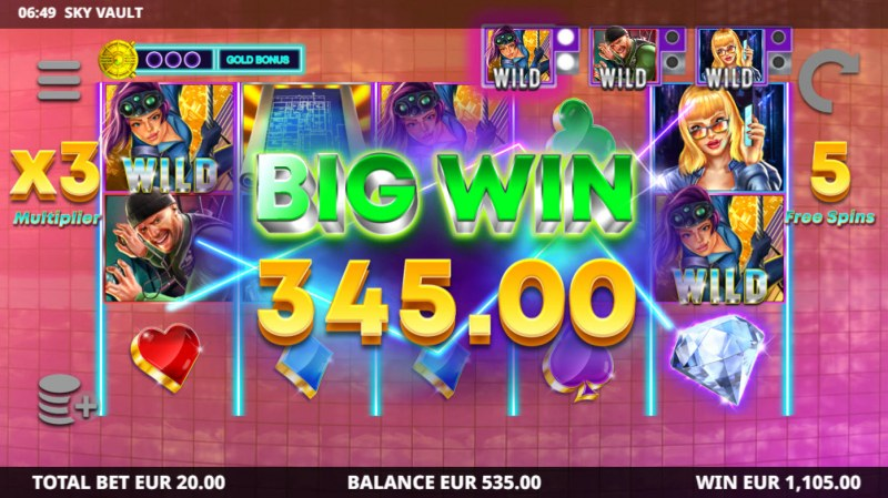 Sky Vault :: Big Win