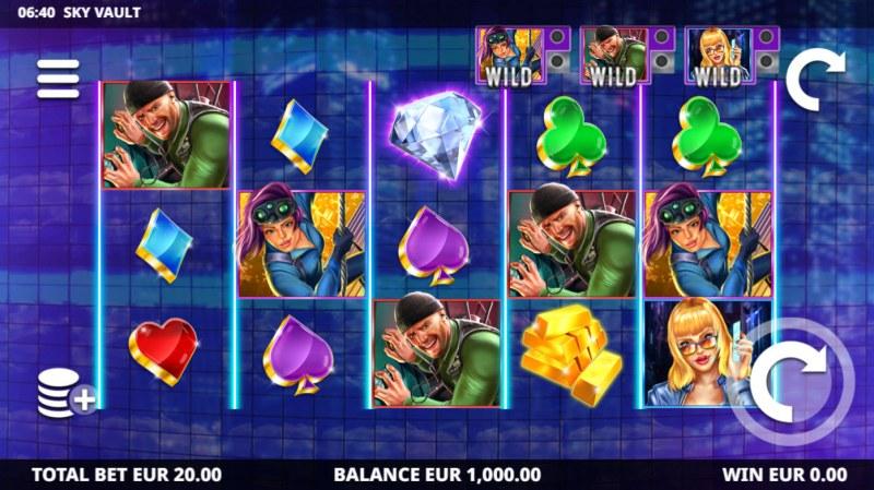 Sky Vault :: Main Game Board