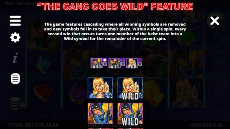 Sky Vault :: The Gang Goes Wild Feature