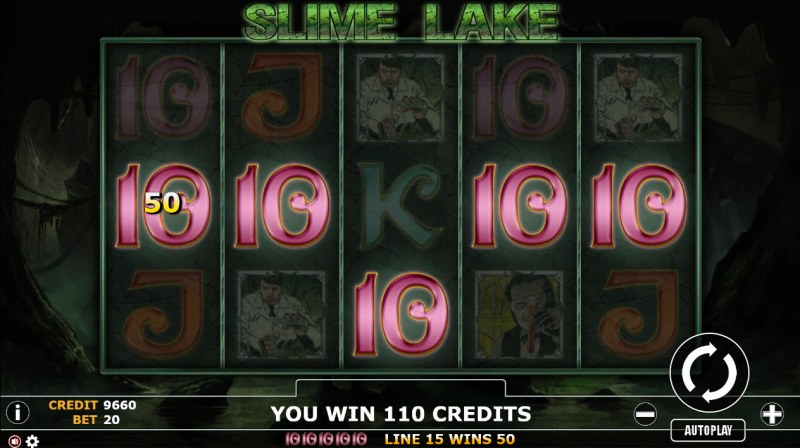 Slime Lake :: Five of a kind