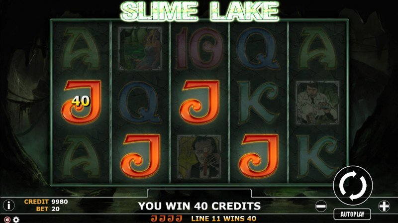 Slime Lake :: Four of a kind Win