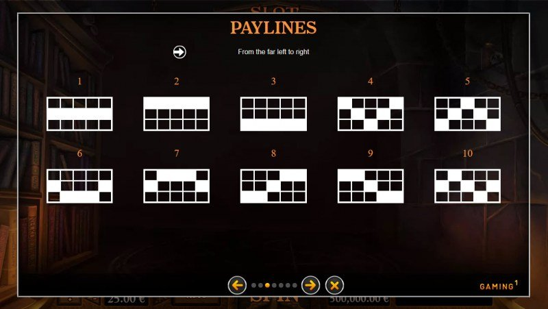 Slot of Madness :: Paylines 1-10
