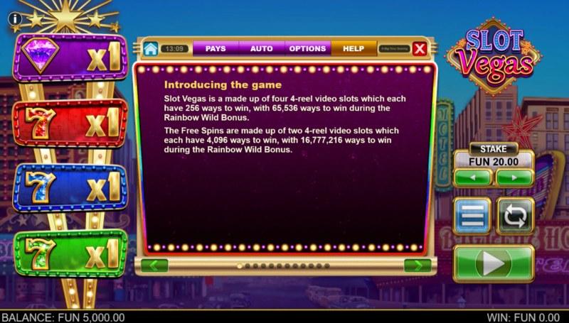 Slot Vegas Megasquads :: General Game Rules