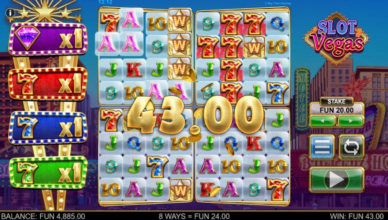 Slot Vegas Megasquads :: Big Win