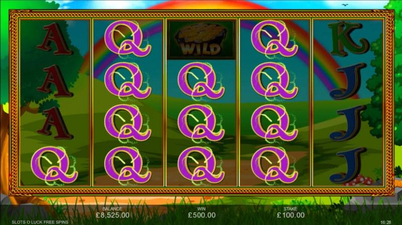 Slots O' Luck :: Multiple winning paylines