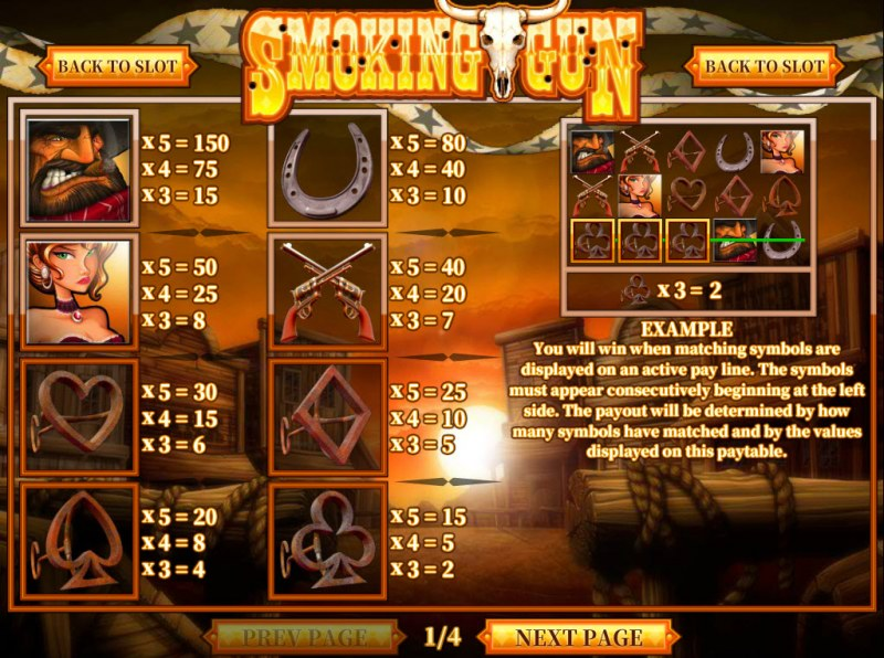 Spiele Smoking Gun - Video Slots Online