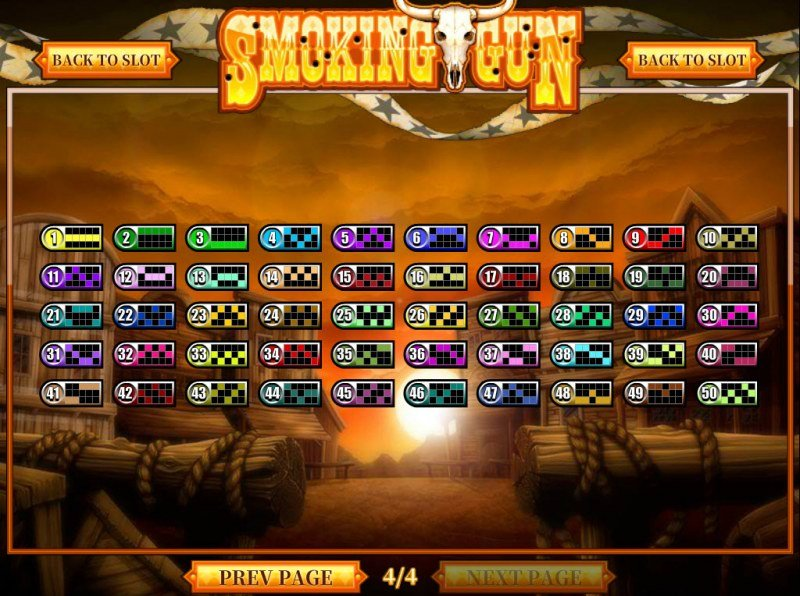 Play slots at Supernova: Supernova featuring the Video Slots Smoking Gun with a maximum payout of $300,000