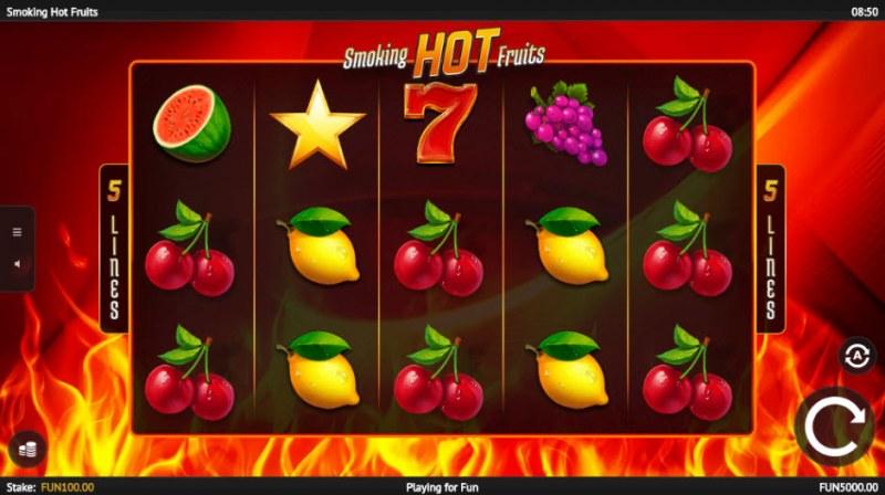 Smoking Hot Fruits :: Main Game Board