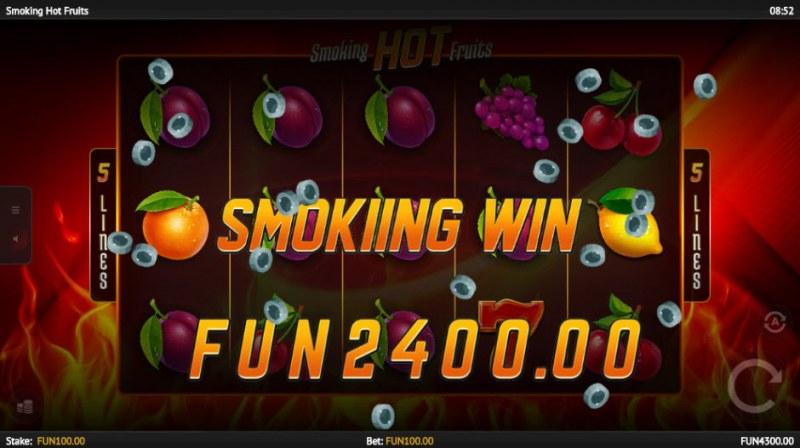 Smoking Hot Fruits :: Big Win