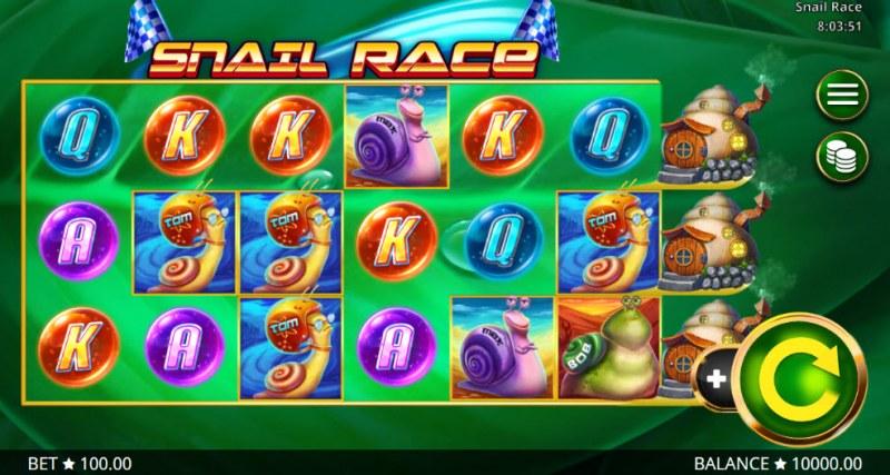 Snail Race :: Main Game Board