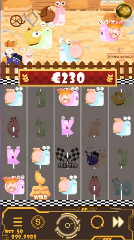 Snail Racing :: Multiple winning combinations