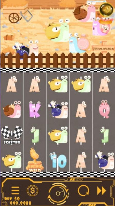 Snail Racing :: Main Game Board