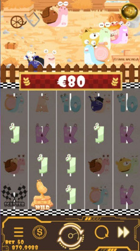 Snail Racing :: Four of a kind Win