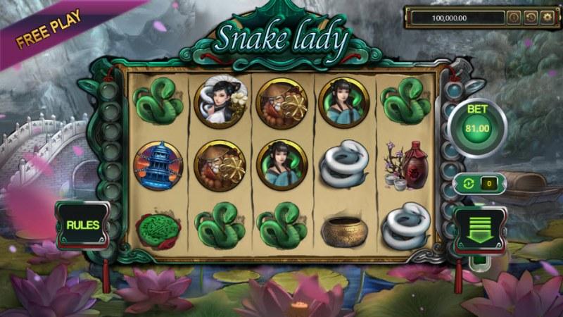 Snake Lady :: Main Game Board
