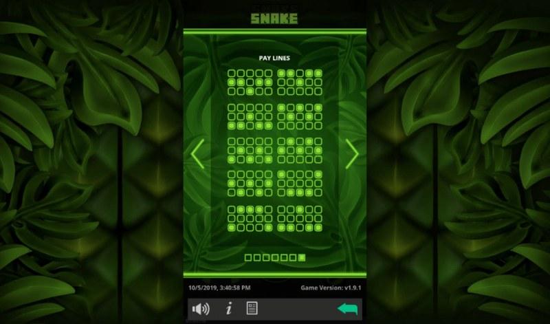 Snake :: Paylines 11-20