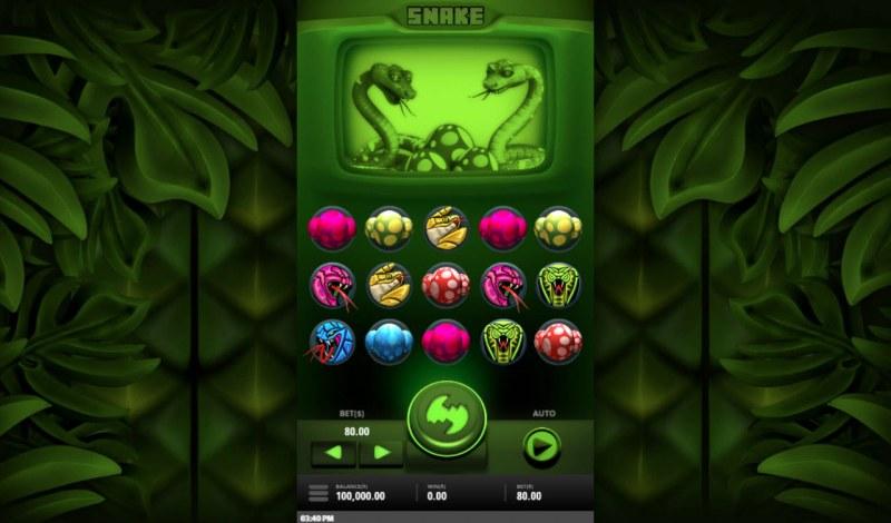 Snake :: Main Game Board