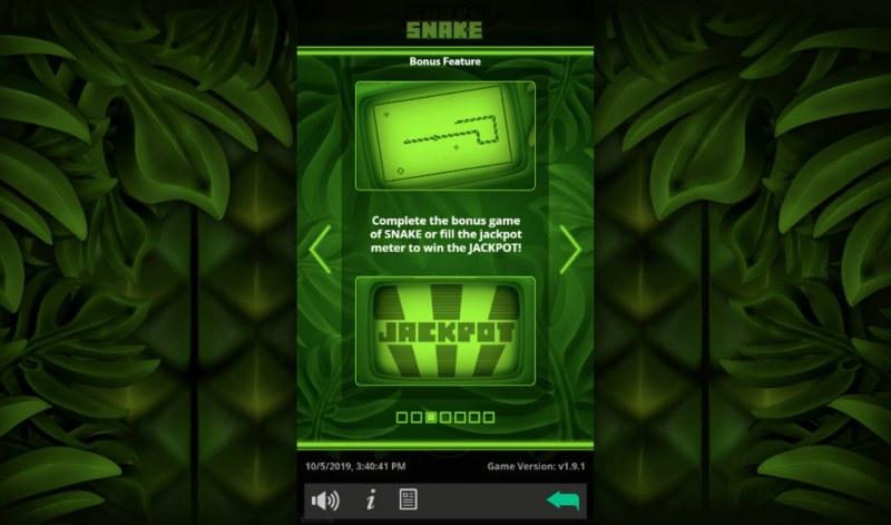 Snake :: Bonus Game Rules
