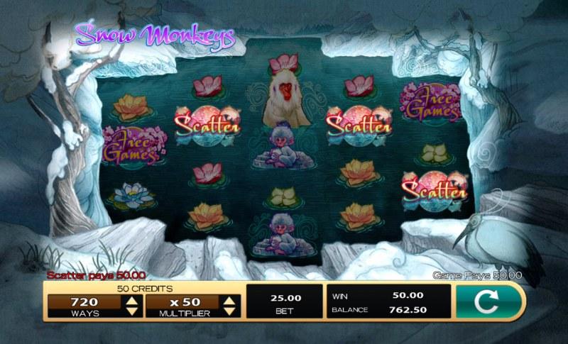 Snow Monkeys :: Winning combination