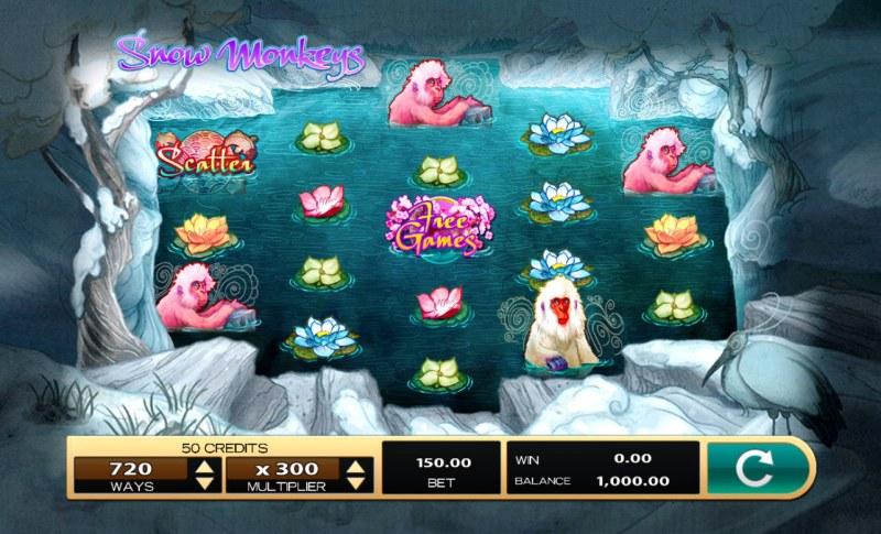 Snow Monkeys :: Main Game Board