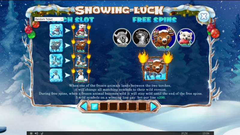 Snowing Luck Christmas Edition :: Feature Rules
