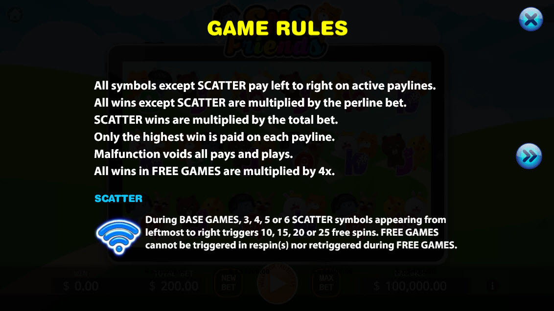 SNS Friends :: General Game Rules