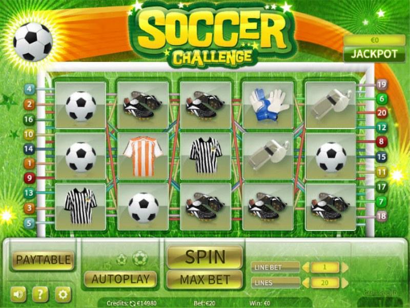 Soccer Challenge :: Main Game Board