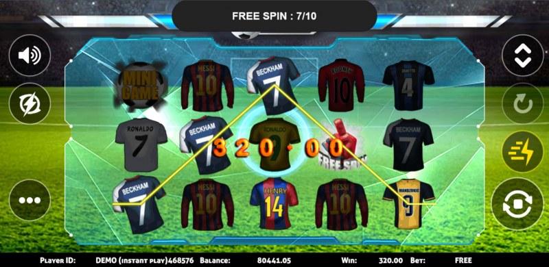 Soccer :: A three of a kind win