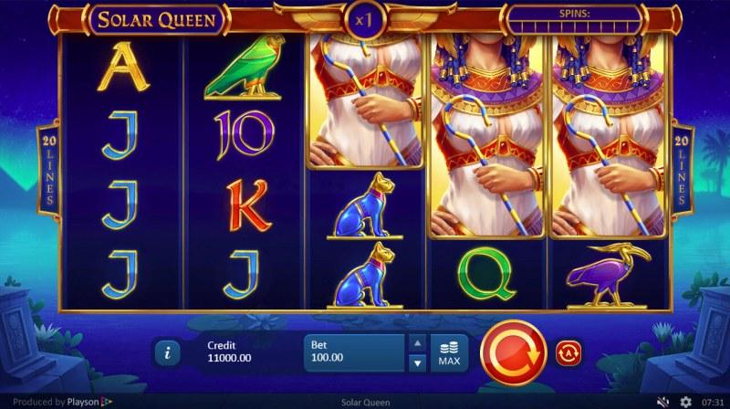 Solar Queen :: Main Game Board
