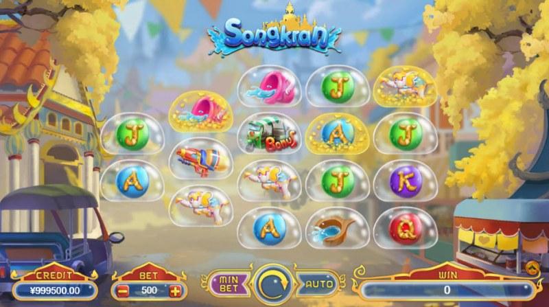 Songkran :: Main Game Board